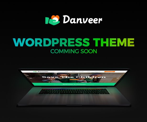 Danveer Charity and Fundraising WordPress Template
