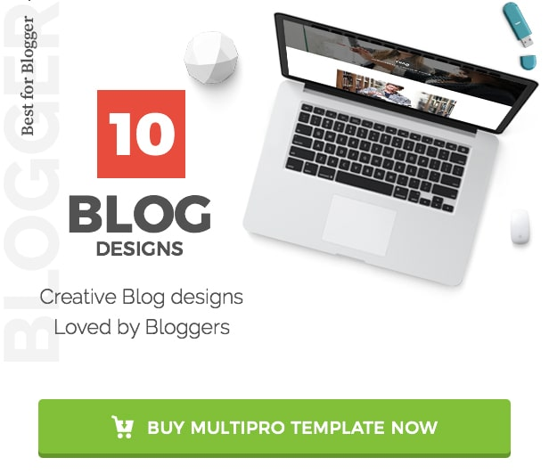 MultiPro Best Blog Design