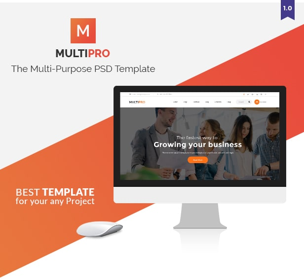 MultiPro Multi Purpose Template