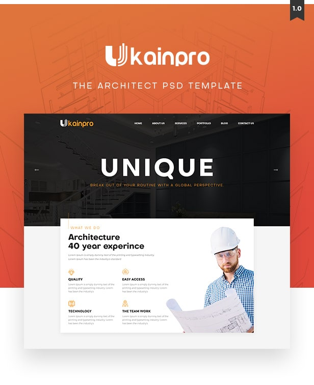 Ukainpro Multi Purpose Template